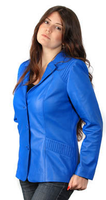 Lyn Leather Tammy Jacket