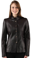 Lyn Leather Mia Jacket