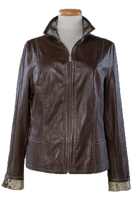 Alice Arthur Alice Dark Brown Leather Jacket