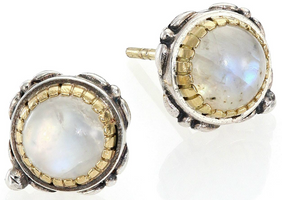 Konstantino Erato Labradorite, 18K Yellow Gold & Sterling Silver Stud Earrings