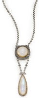 Konstantino Erato Labradorite, 18K Yellow Gold & Sterling Silver Drop Pendant Necklace