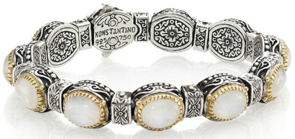 Konstantino Erato Labradorite, 18K Yellow Gold & Sterling Silver Bracelet