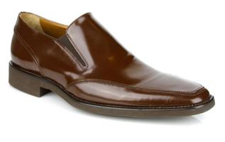 Michael Toschi Mario Chocolate Brush Off Shoes