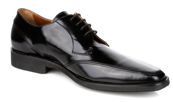 Michael Toschi Lorenzo Black Brush Off Shoes