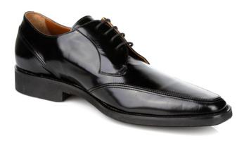 Michael Toschi Lorenzo Black Brush Off Shoes