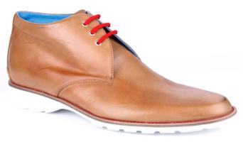 Michael Toschi SL802 Tan Shoes