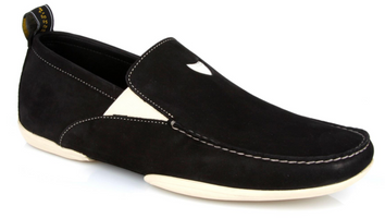 Michael Toschi Onda S Black Suede Shoes