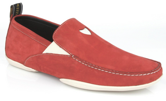Michael Toschi Onda S Red Suede Shoes