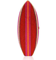Judith Leiber Couture Super Tubes Surf Board