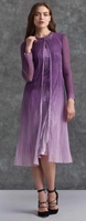 Komarov Purple Gradient Dress