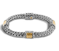 John Hardy Classic Chain Medium Four Chain Bracelet