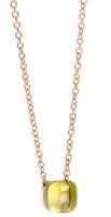Pomellato Nudo Pendant and Chain with Lemon Quartz