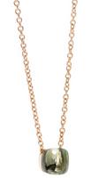 Pomellato Nudo Pendant and Chain with Prasiolite