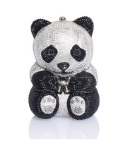 Judith Leiber Couture Ling Panda Clutch Bag