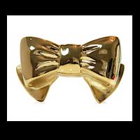 Judith Leiber Couture Gold Bow Handbag