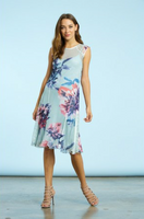 Komarov Mystic Summer Cap Sleeve Dress