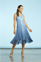 Komarov Ombre Lace Insert Dress
