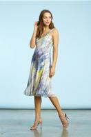 Komarov Botanical Breeze Scarf Dress