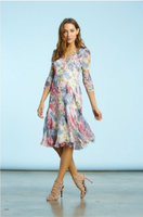 Komarov Morning Dew 3/4 Sleeve Dress