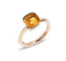 Pomellato Nudo Petite Ring with Madeira Citrine