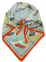Car Country American Dream Cars Automobile Scarf