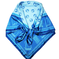 Girls and Grilles Automobile Scarf Sapphire