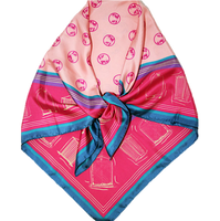Girls and Grilles Automobile Scarf Ruby