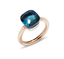 Pomellato Nudo Classic Ring with London Blue Topaz