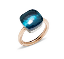 Pomellato Nudo Maxi Ring with London Blue Topaz