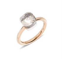 Pomellato Nudo Petite Ring with White Topaz