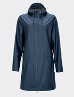Rains Women's Rain Coat- Blue