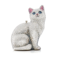 Judith Leiber Cat Marie Clutch Bag