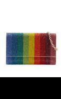 Judith Leiber Couture Fizzoni Rainbow Handbag
