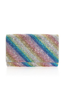 Judith Leiber Couture Fizzy Rainbow Shimmer Handbag