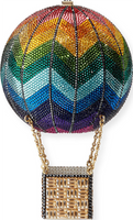 Judith Leiber Couture Rainbow Hot Air Rainbow Handbag