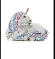 Judith Leiber Couture Lunaria Unicorn Clutch Bag