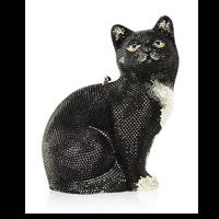 Judith Leiber Couture Jinx Cat Handbag