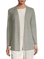 Eileen Fisher Organic Textured Open Cardigan