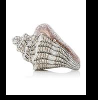Judith Leiber Couture Cubana Conch Shell Clutch Bag