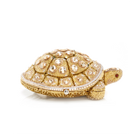 Judith Leiber Couture Fortune Turtle Clutch Bag