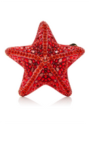 Judith Leiber Starfish Fromia Crystal Clutch Bag