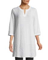 Eileen Fisher Organic Cotton Voile Tunic