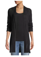 Eileen Fisher Fine Silk/Organic Linen Cardigan
