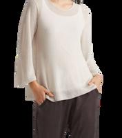 Eileen Fisher Fine Organic Linen A-Line Top