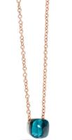 Pomellato Nudo Pendant and Chain with London Blue Topaz