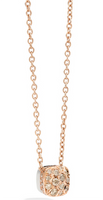 Pomellato Nudo Pendant and Chain with Brown Diamonds