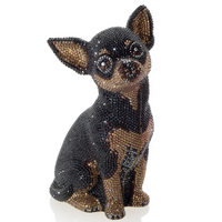 Judith Leiber Couture Mickie Chihuahua Clutch Bag