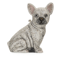 Judith Leiber Couture Maxine French Bulldog Clutch Bag