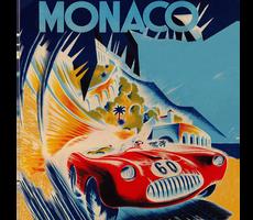 Monaco Poster Shawl