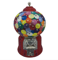Judith Leiber Couture Gumball Machine Handbag